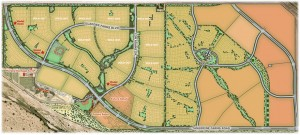 Gladden Farms Community Map