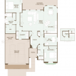Artesa floor plan at saddlebrooke ranch