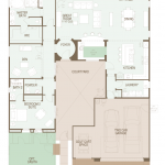 Mirasol floor plan SaddleBrooke Ranch