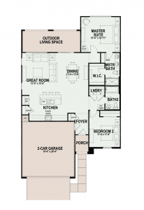 Quail Creek home floor plans sagebrush