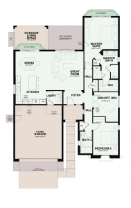 Quail Creek Floor Plans Baja