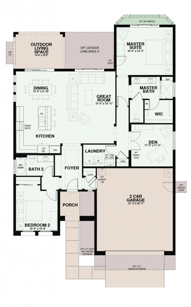 Quail Creek Riva Floor Plan