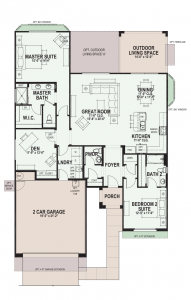 Quail Creek Floor Plans Agave