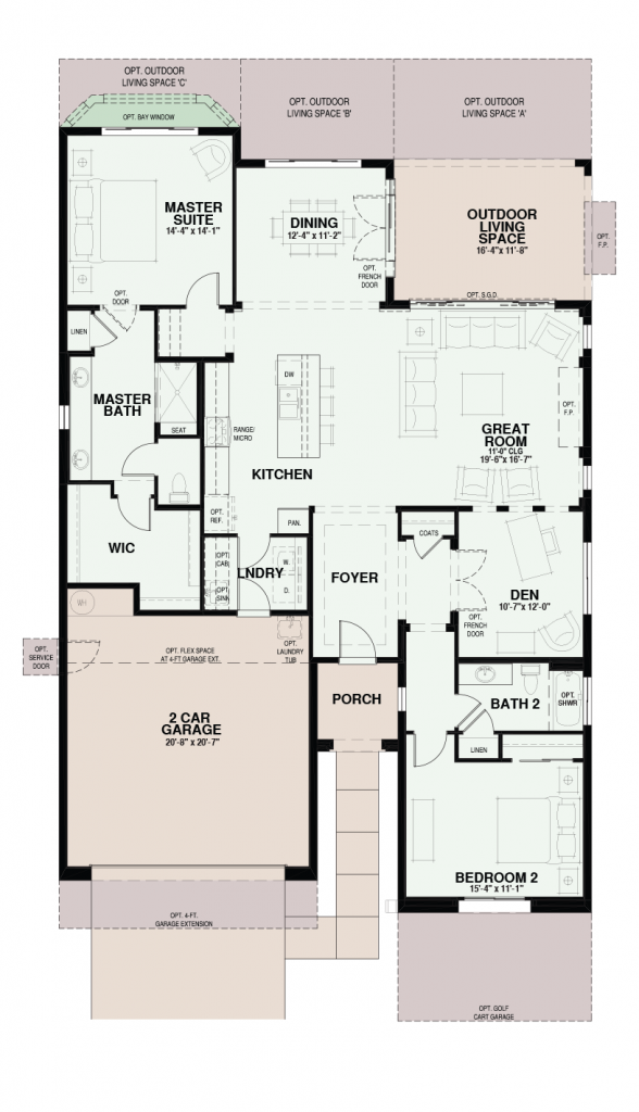 Quail Creek Vita Floor Plan