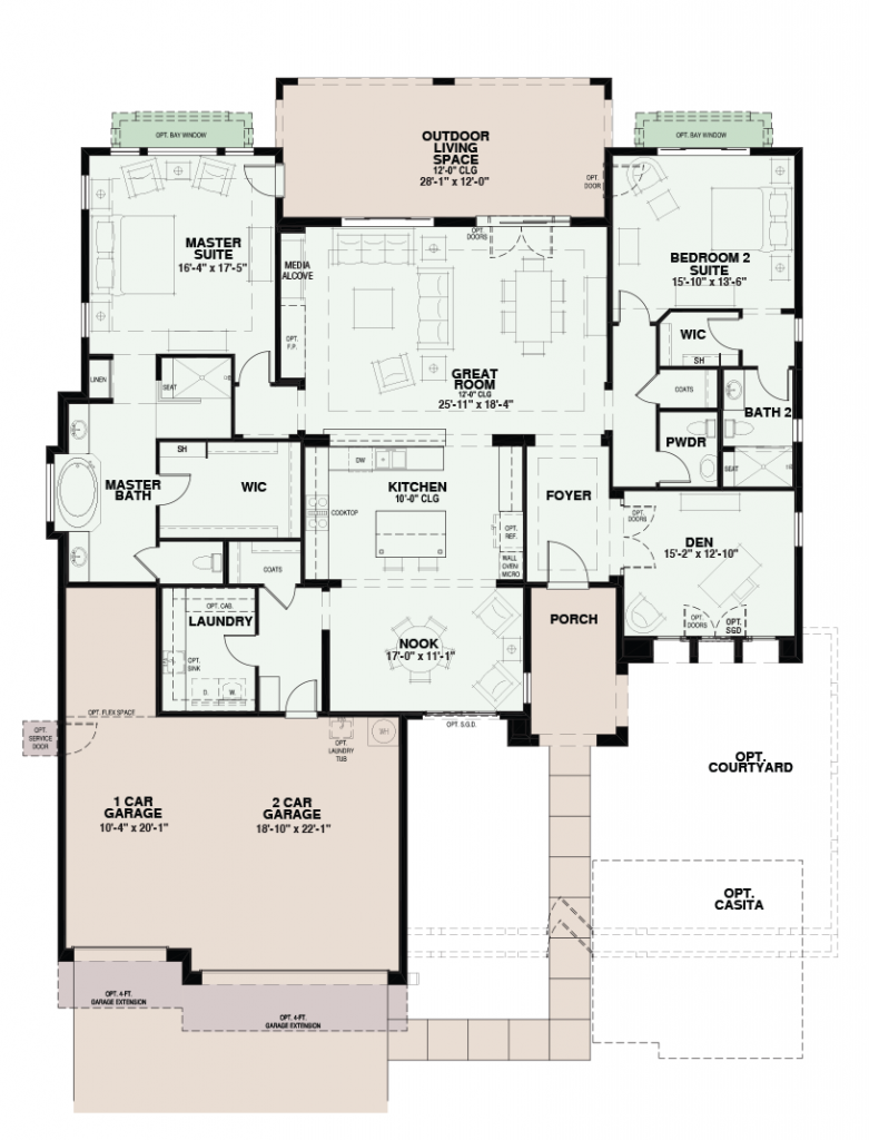 Quail Creek Montara Floor Plan