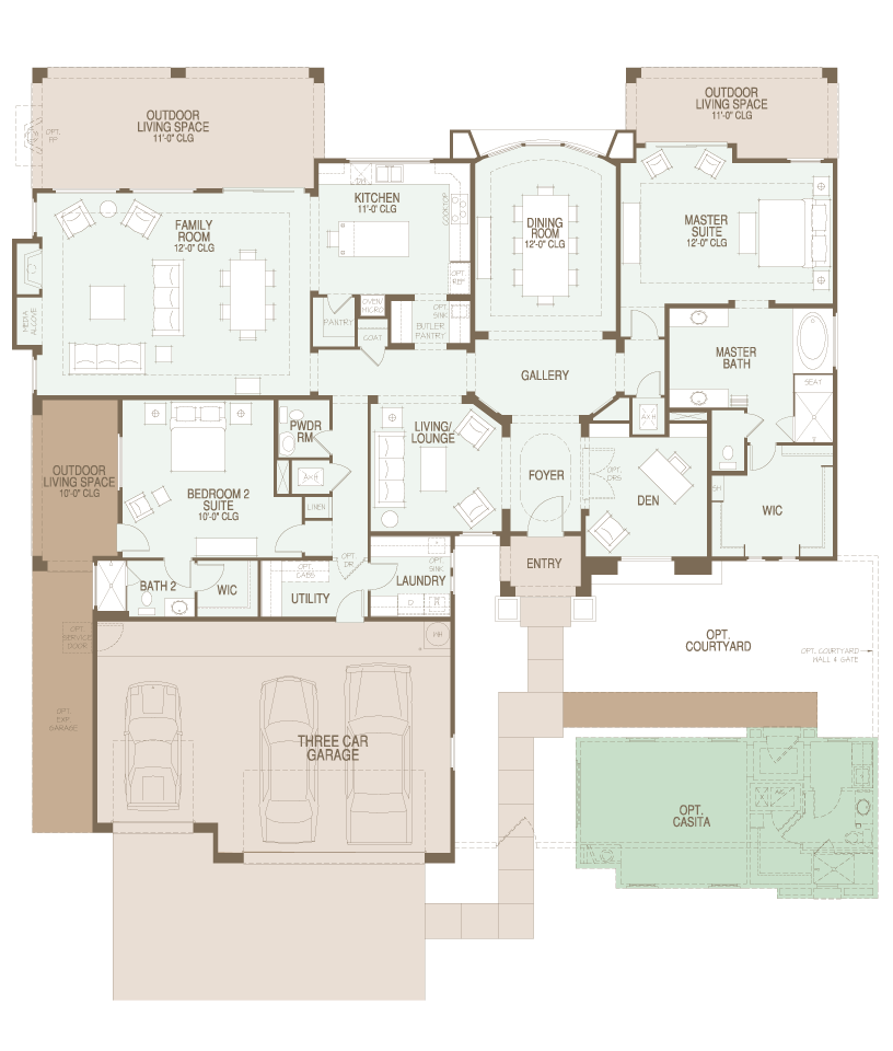 Preserve Catalina Floor Plan