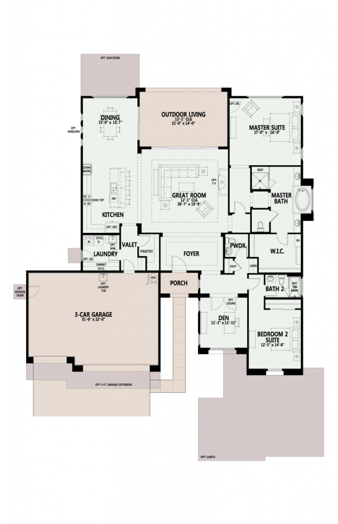 The Preserve Acacia floor plan