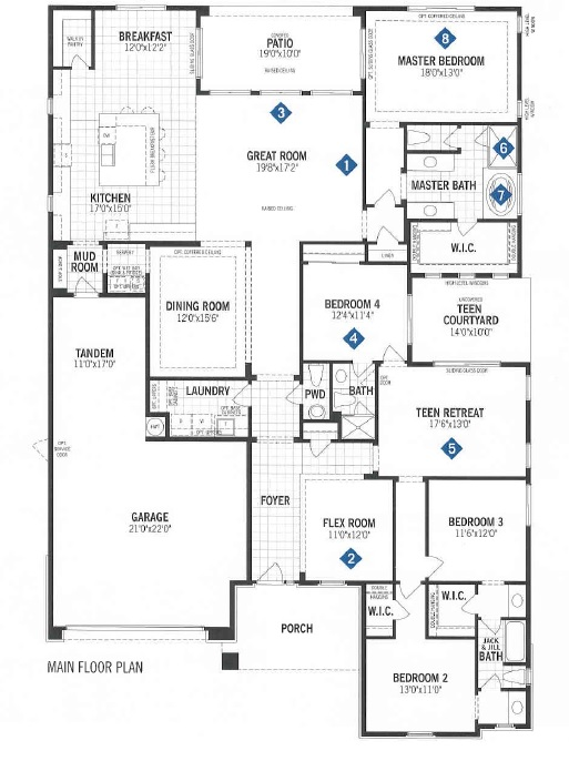 Mattamy Homes Quinlan Floor Plan