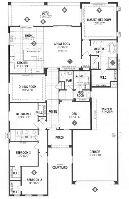 Mattamy Homes Ridgeview Floor Plan