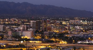 The City Of Tucson AZ Lights