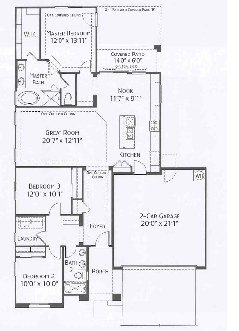 Center Pointe Vistoso Coconino Floorplan