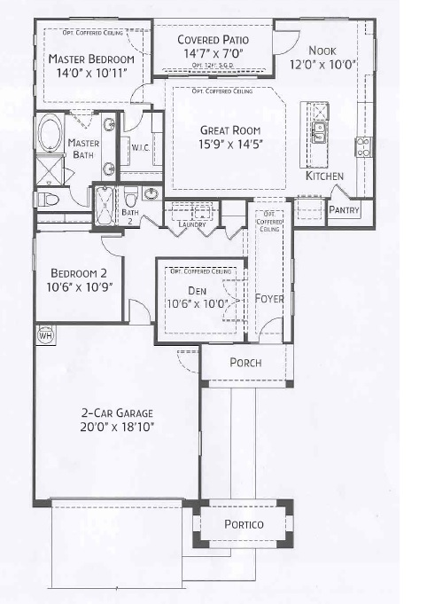 Center Pointe Vistoso Graham floorplan