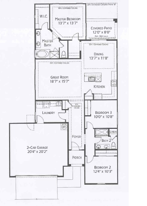 Center Pointe Vistoso Yuma Floorplan