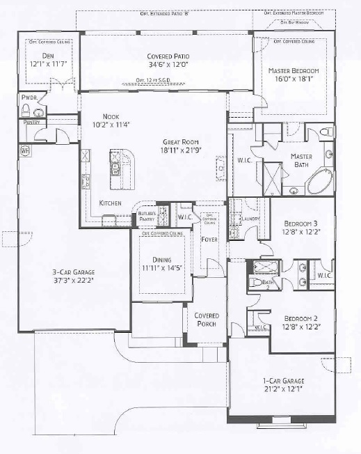 Center Pointe Vistoso Supersitition floorplan