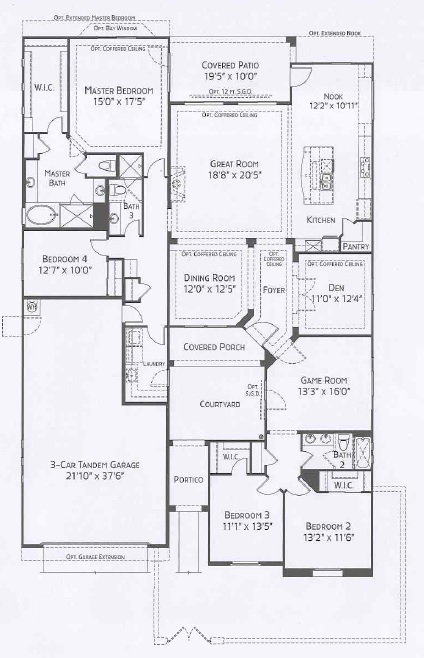 Center Pointe Vistoso Cholla floorplan
