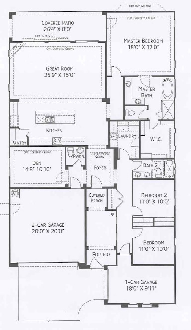 center pointe vistoso jerome floorplan