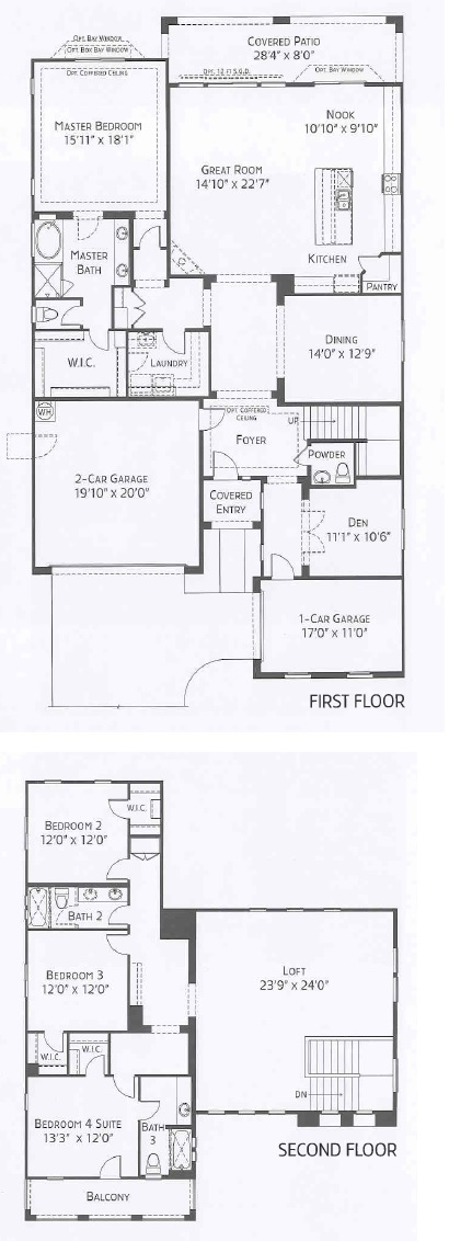 Center Pointe Vistoso Winslow floorplan